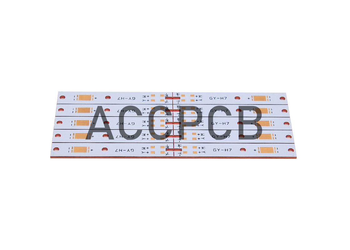 Aluminum Substrate Custom LED PCB Single Layer For Tri - Proof Purification Lamp