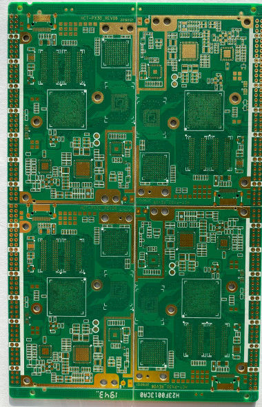 8 Layer HDI PCB Board High Density Interconnect With Immersion Gold Sureface